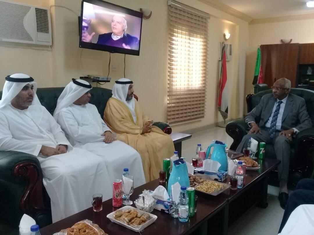 رئيس الشؤون الإسلامية يتابع المشاريع المشتركة في السودان