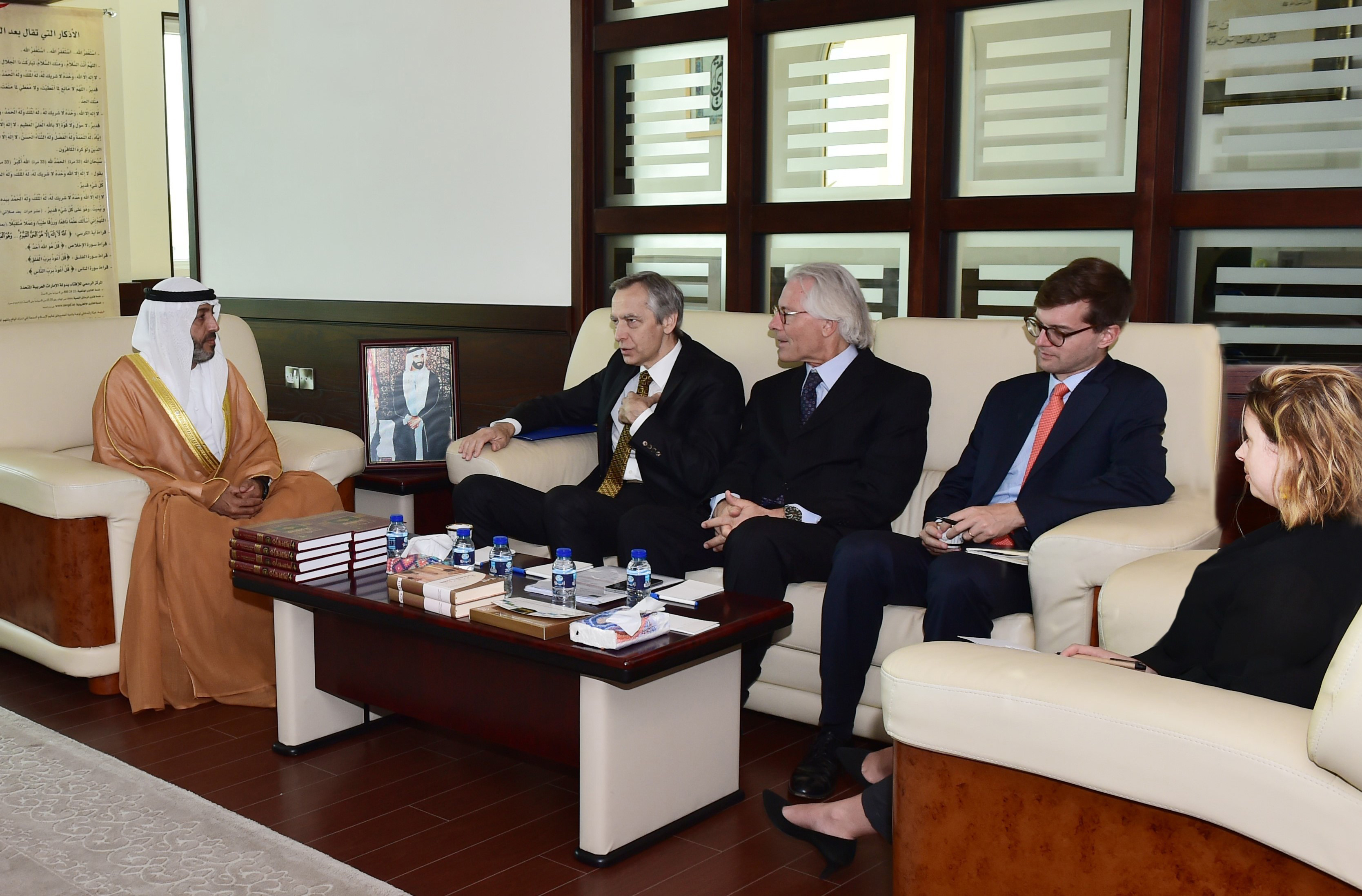 The European Union's Special Envoy for the Promotion of Freedom of Religion visits Awqaf