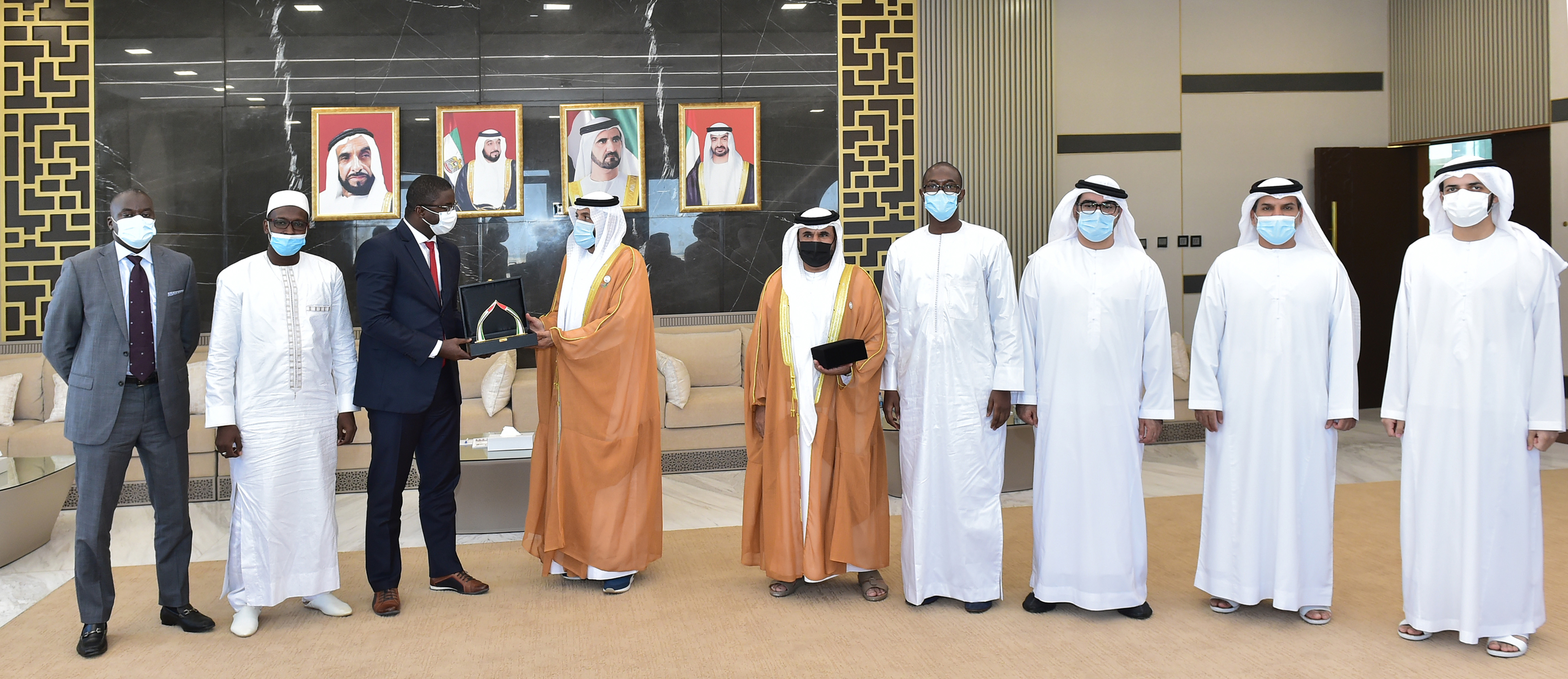 The Senegalese delegation visits Awqaf and discusses ways to promote cooperation